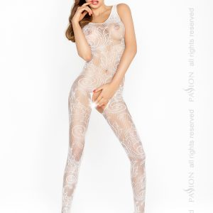 white bodystocking